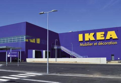 Ikea innove avec son magasin de clermont ferrand - Ikea dalle jardin clermont ferrand ...