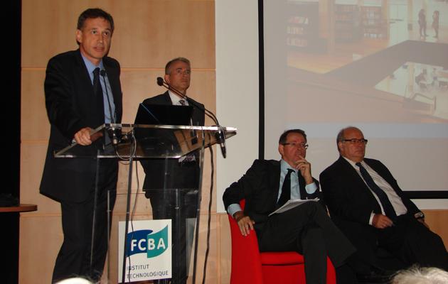 De gauche à droite : Frank Mathis, Dominique Weber, Georges-Henri Florentin et Dominique Millereux