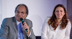 Pierre Elmalek et Valérie Duchaussoy.