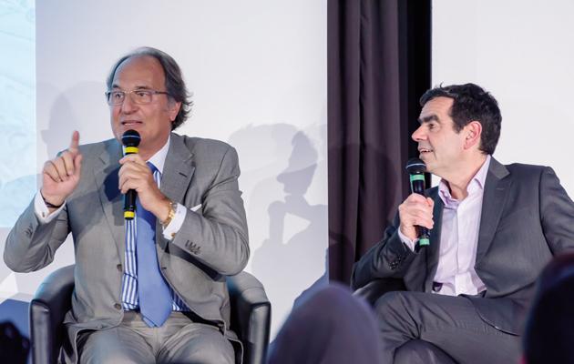 Pierre Elmalek et Stéphane Soumier