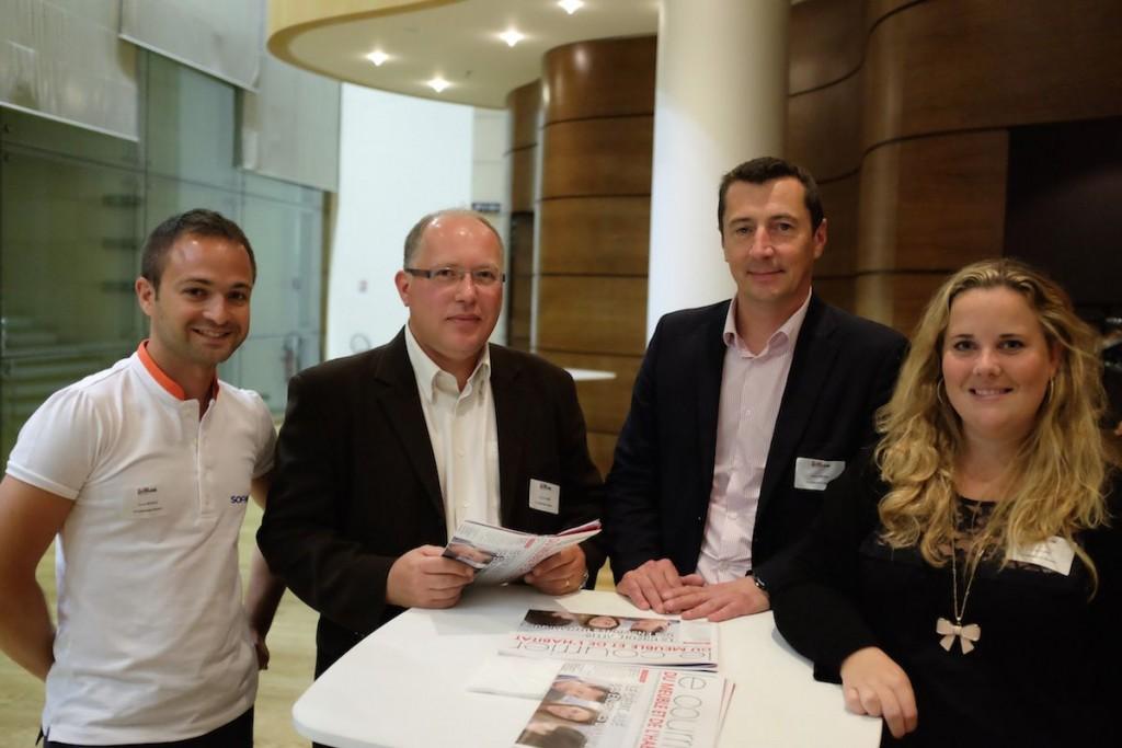 Florian Revilla, Yannick Le Pape, Hubert Michel et Mathilde Bail (CA Consumer Finance – Sofinco)