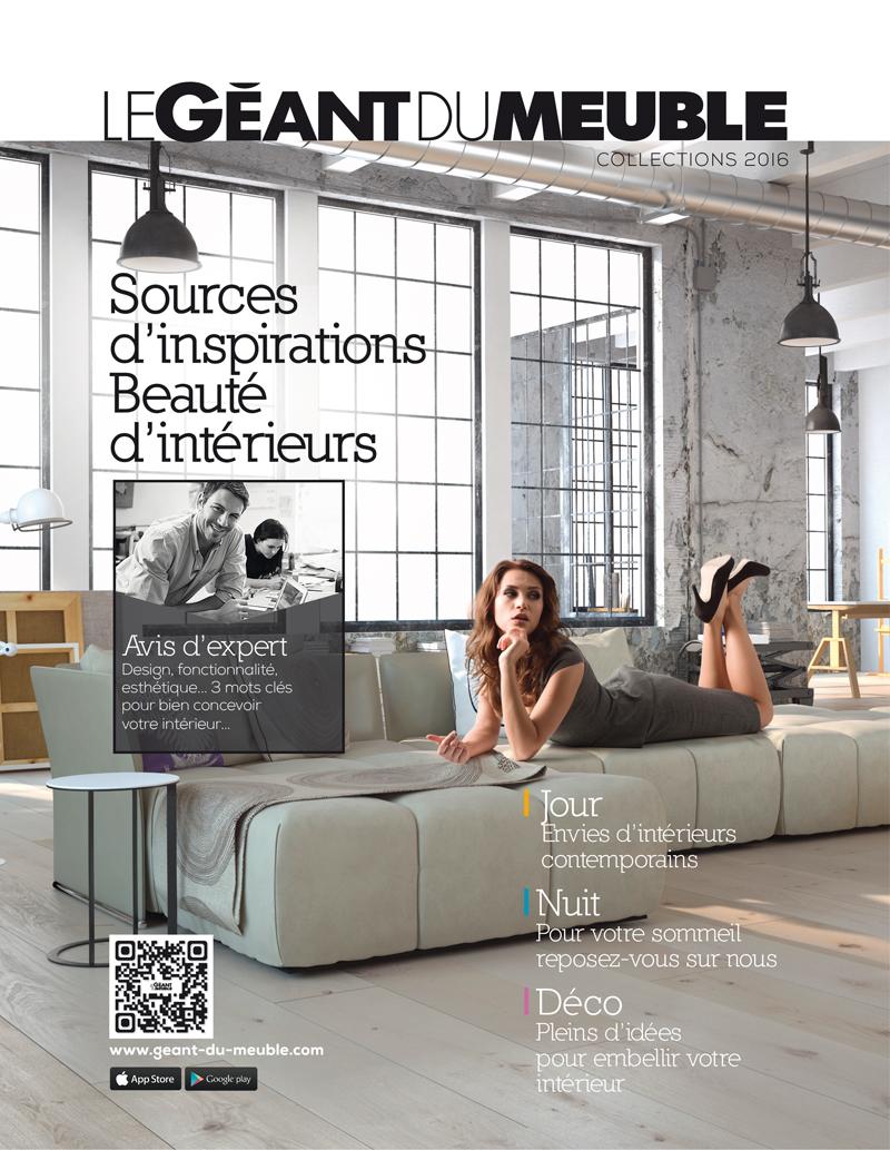 Geant Du Meuble Un Nouveau Catalogue Le Courrier Du Meuble