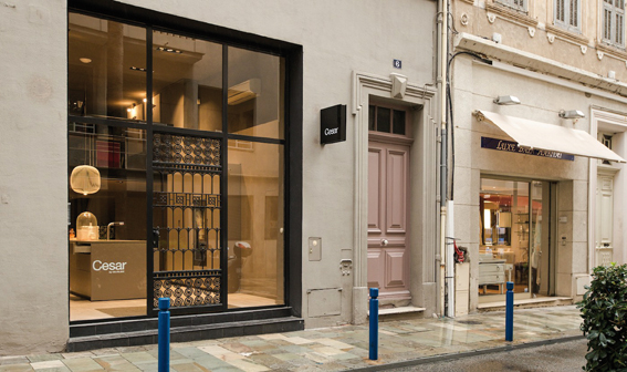 Cesar Cannes flagship store