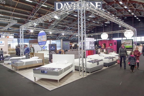 salon du mobilier de nantes fevrier 2016 le courrier du meuble et de l habitat. Black Bedroom Furniture Sets. Home Design Ideas