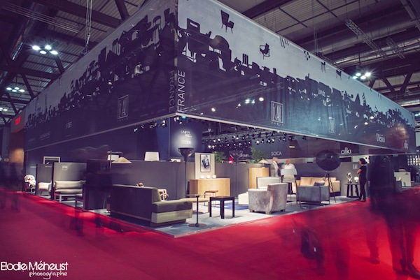 groupement des exportateurs de meubles au salon de milan 2016 le courrier du meuble et de l habitat. Black Bedroom Furniture Sets. Home Design Ideas