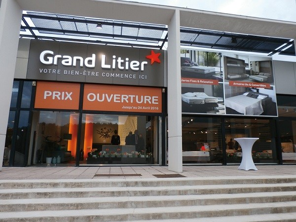 GRAND LITIER 100ème magasin