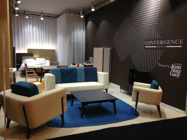 Collection Echasse Convergence Paris canapé chaises