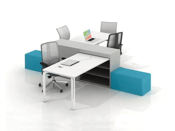 EKLIPSE collaborer bureau expo mobilier de bureau