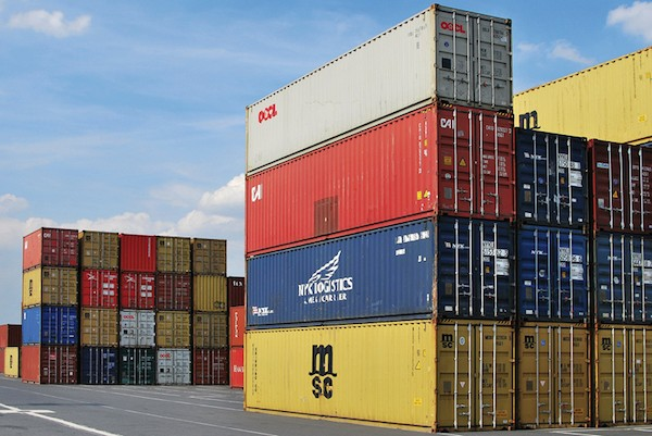 Exportations Containers