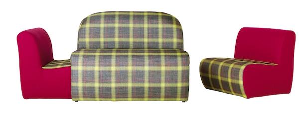ROCHE-BOBOIS canape et fauteuils formentera