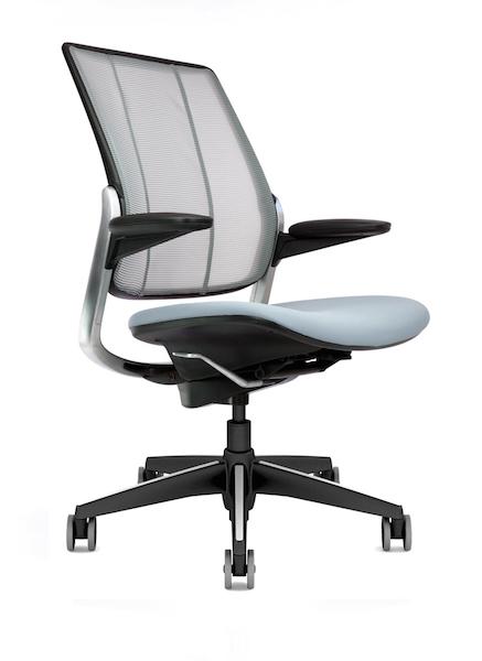 Diffrient Smart (Humanscale) Bureaux expo mobilier de bureau