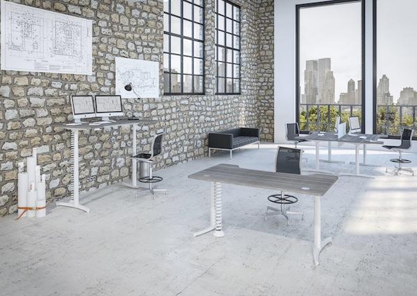 Le salon du mobilier de bureau le courrier du meuble et de l habitat for Salon mobilier de bureau