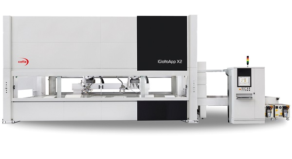 robot de finition Xylexpo Cefla