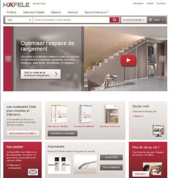Häfele site web