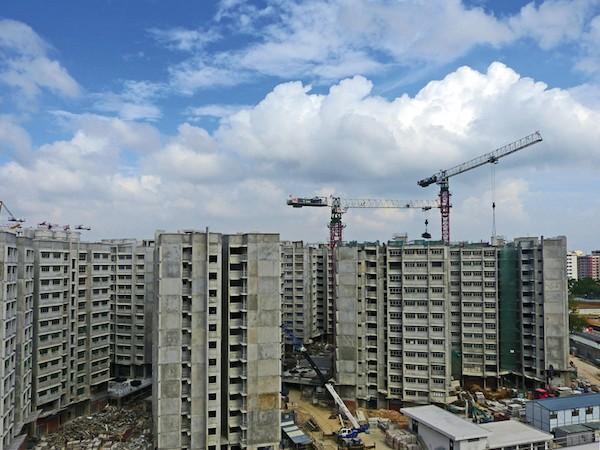 ipea chantier de logements