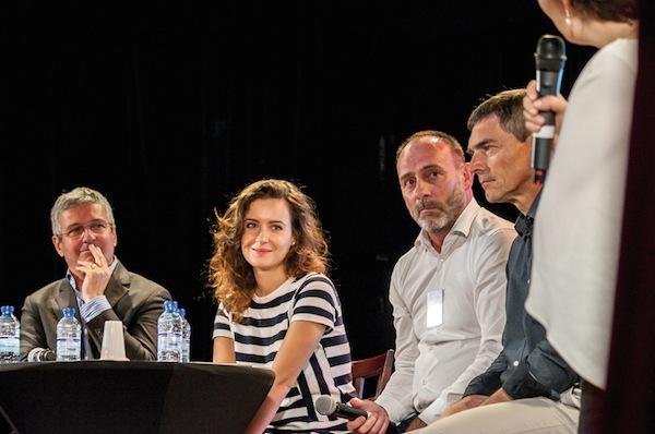 Cyrille de Montgolfier Emmanuelle Duez Philippe Moreau et Vincent Heuraux génération Y Journée UNIFA