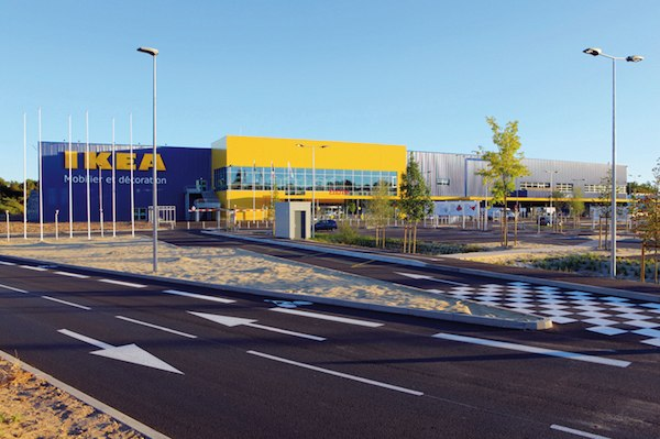ikea magasin devanture