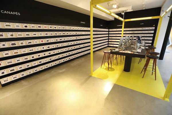 made com ouvre son 1er showroom connect paris le. Black Bedroom Furniture Sets. Home Design Ideas
