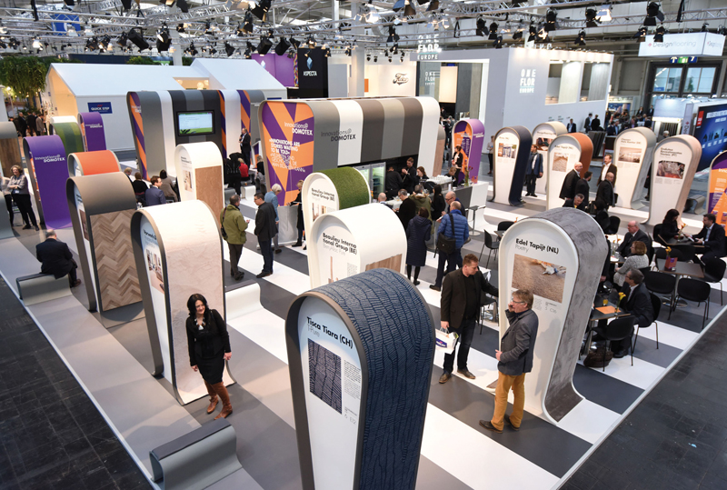 Domotex 2017 un tour d horizon du rev tement de sol le for Le courrier du meuble