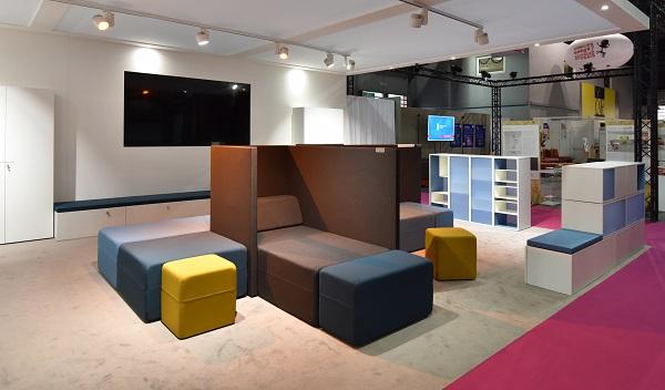 worspace expo 2017 un mobilier de bureau de plus en plus domestique le courrier du meuble et. Black Bedroom Furniture Sets. Home Design Ideas