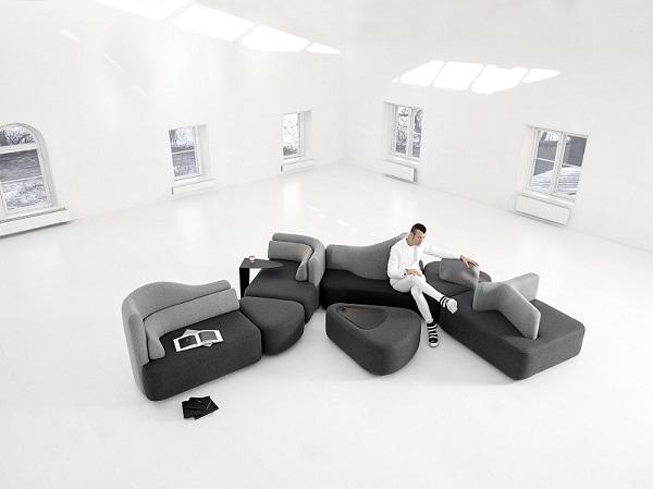 boconcept un good design award pour le canap ottawa sign karim rashid le courrier du meuble. Black Bedroom Furniture Sets. Home Design Ideas