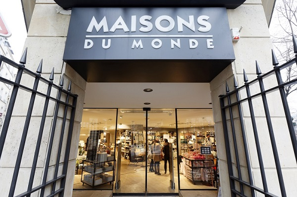 maisons du monde un 7e magasin parisien avenue de wagram le courrier du meuble et de l habitat. Black Bedroom Furniture Sets. Home Design Ideas