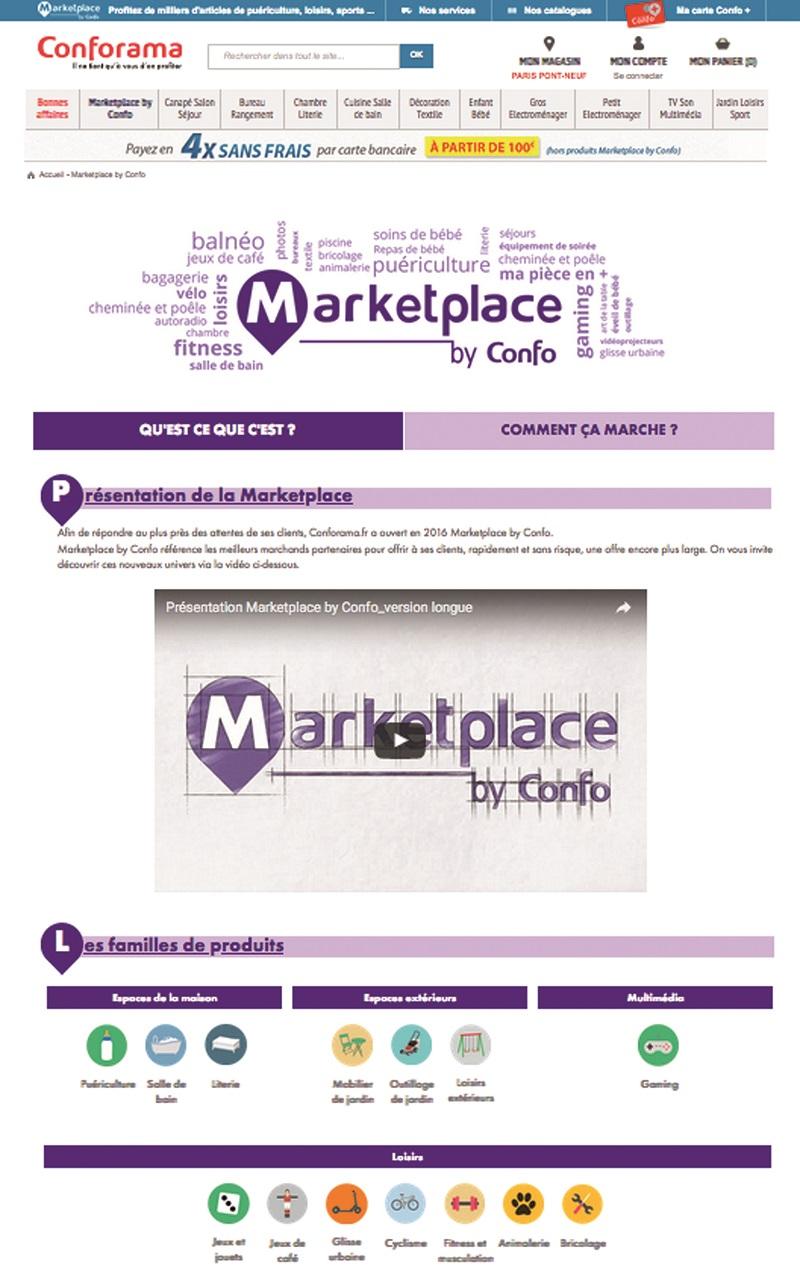 CONFORAMA LANCE SA MARKETPLACE - Le Courrier du meuble