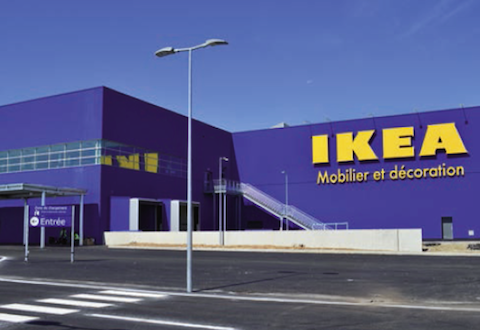 ikea innove avec son magasin de clermont ferrand le courrier du meuble. Black Bedroom Furniture Sets. Home Design Ideas