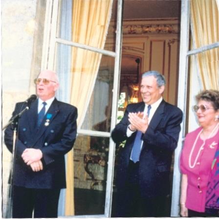 Huguette et Georges Cayzac - le courrier du meuble et de lhabitat.fr