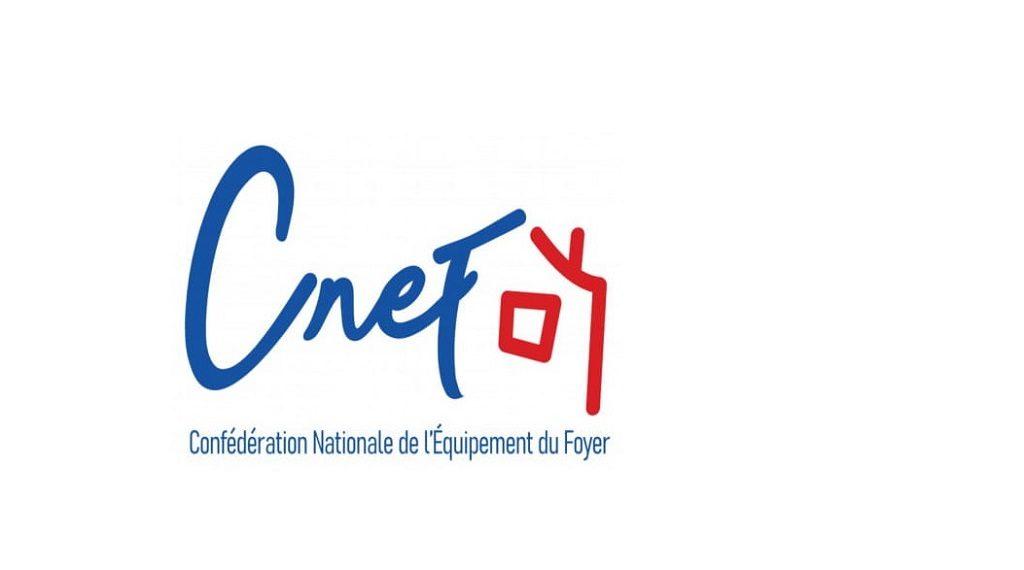 logo cnef - le courrier du meuble et de lhabitat