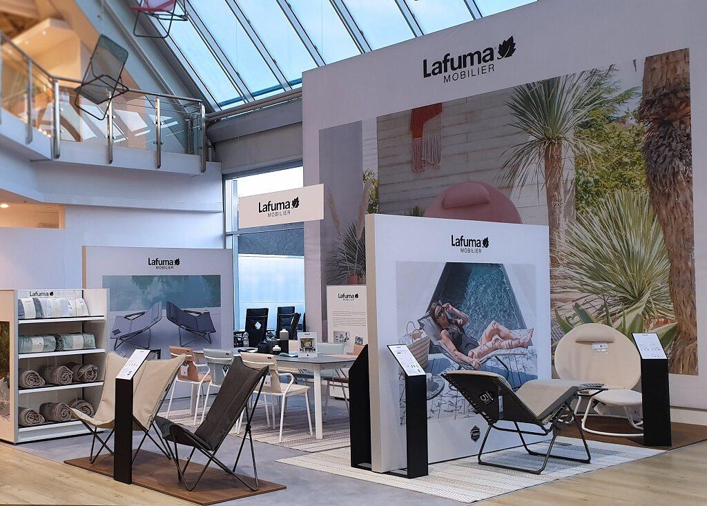 Shop in shop Lafuma Mobilier chez Biller (copyright Lafuma Mobilier) le courrier du meuble et de lhabitat