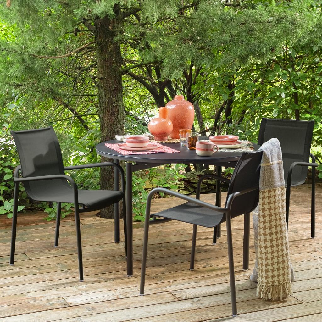 Gamme outdoor (copyright Habitat) Le courrier du meuble et de lhabitat
