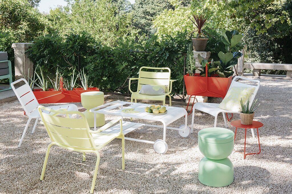 Luxembourg Fermob - Le courrier du meuble et de lhabitat - copyright Aurélie Lecuyer