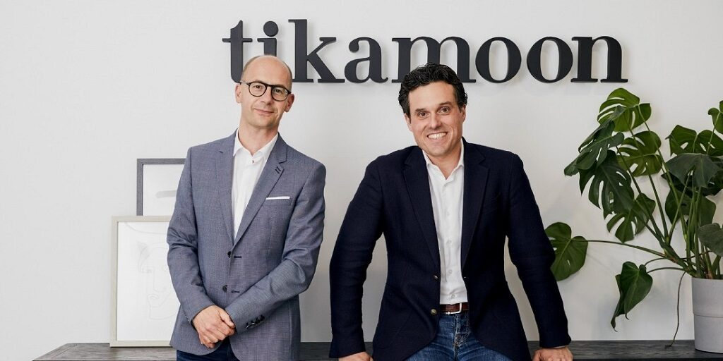 Arnaud Vanpoperinghe et Thibault Deslorieux, dirigeants de Tikamoon